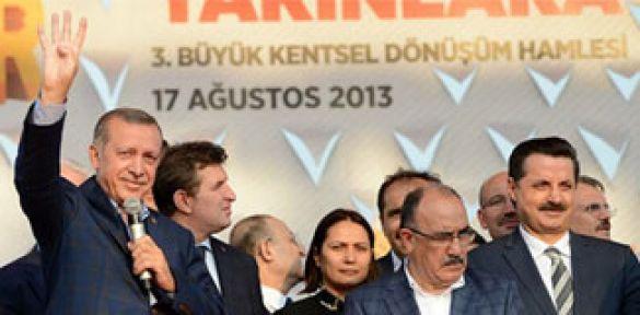 Başbakan'dan 'RABİA' İşareti