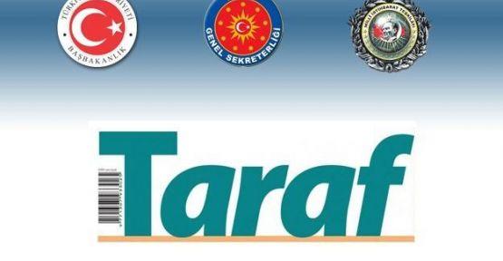 Başbakan Taraf'a Savaş Açtı...