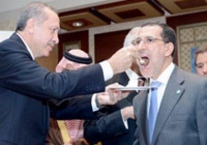 Başbakanın Elinden Pasta Ziyafeti
