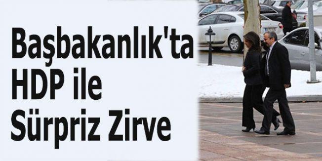 Başbakanlıkta HDP Günü
