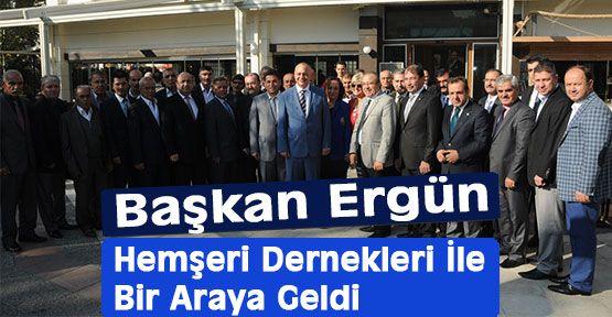 Başkan Ergün'den, Oda ve Dernekler Projesi Müjdesi