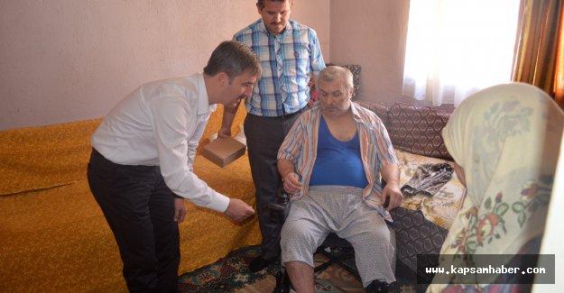 Başkan Şirin'den Hayata Bağlayan Yardım
