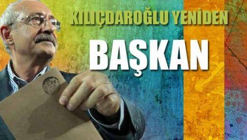 Başkan yine Kılıçdaroğlu