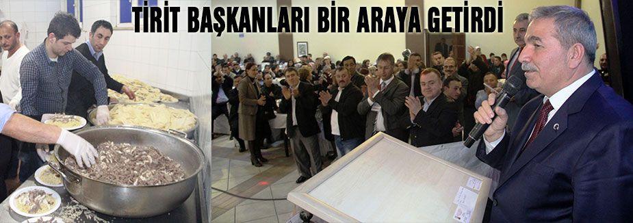 Başkanlar Tirit Sofrasında Buluştu