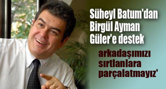 Batum'dan Ayman Güler'e destek