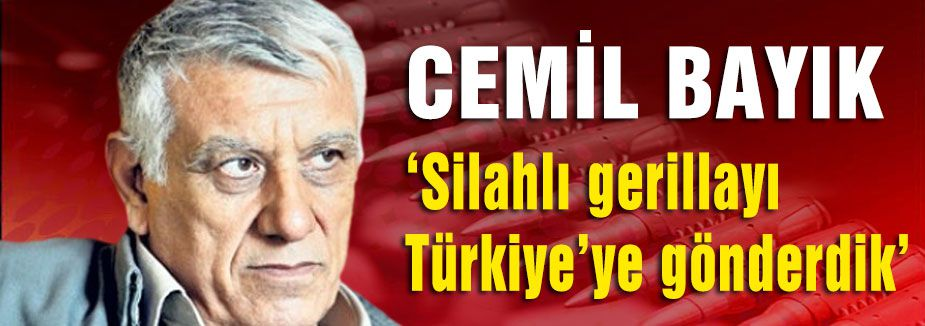 Bayık; Hükümet PKK'ya açıktan savaş ilan etmiştir