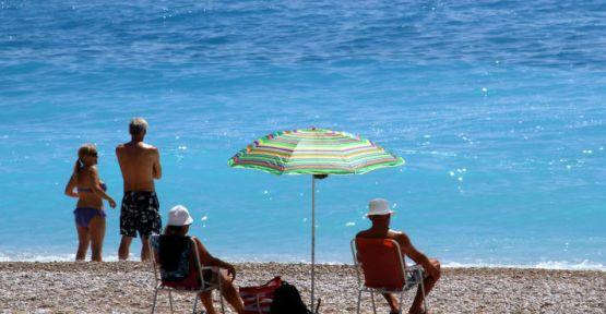 Bayram tatili sahilleri hareketlendirdi...