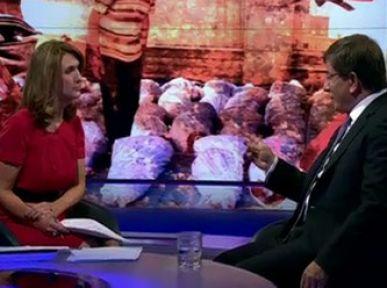 BBC'de Davutoğluna İlginç Soru...