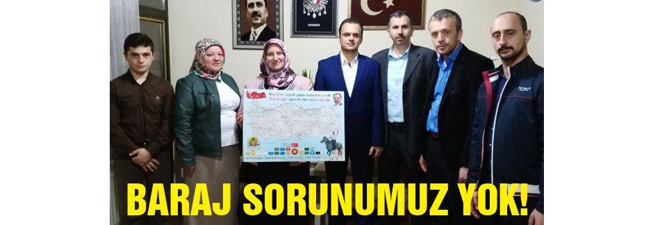 BBP'li Demir: Baraj gibi bir sorunumuz asla yok!