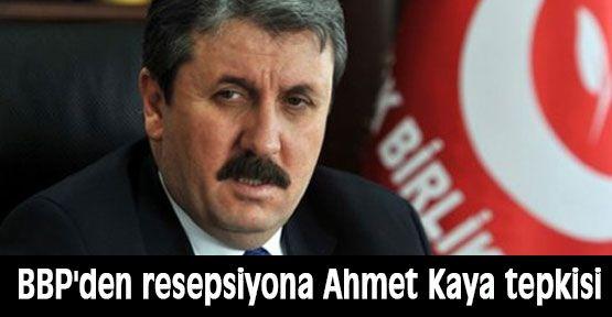 BBP'den Ahmet Kaya Tepkisi!