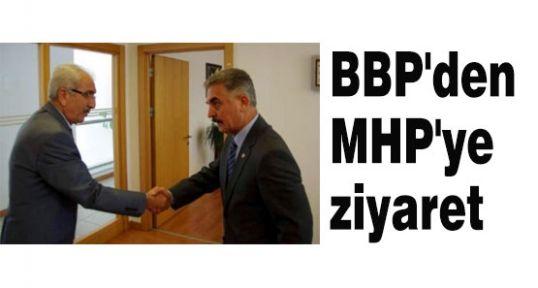 BBP'den MHP'yi Ziyaret Etti