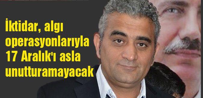 BBP'li Çayır; 17 Aralık'ı asla unutturamayacak