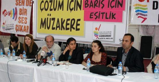 BDP'li Tuncel:''Türkiye ya çözecek ya çözülecek''