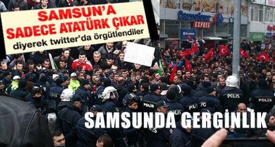 BDP'liler Samsun Dışında ama ortalık Savaş Alanı