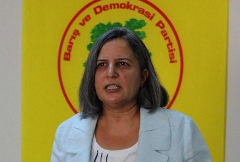BDP'nin Diyarbakır adayı Kışanak...