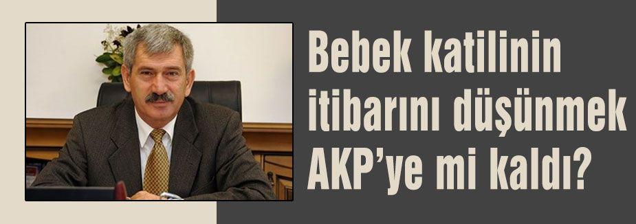 Bebek katilinin itibarını düşünmek AKP'ye mi kaldı?