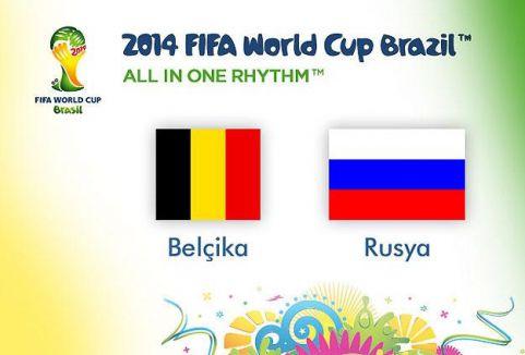 Belçika: 1 - Rusya: 0