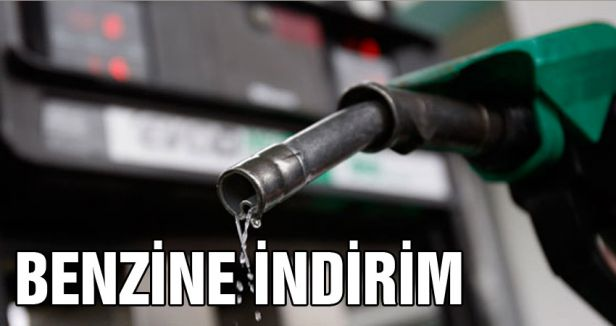 Benzine indirim...