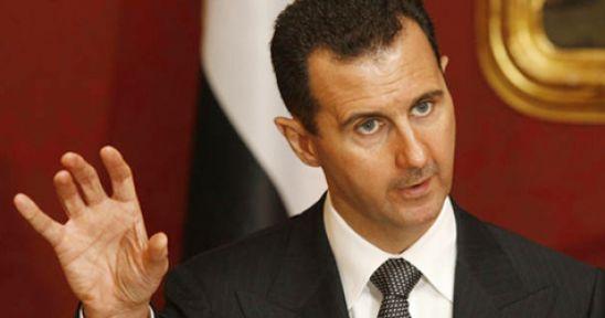 Beşar Esad Amerika ve Fransay'ı Uyardı...