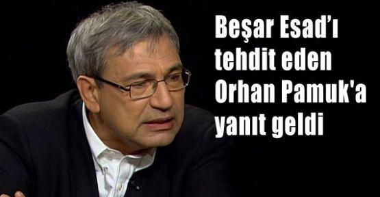 Beşar Esad'ı Tehdit Eden Orhan Pamuk'a Yanıt
