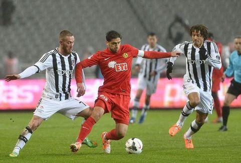 Beşiktaş Eskişehirspor'u yendi