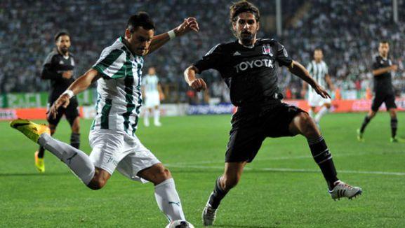 Beşiktaş, Torku Konyaspor'u 2-1'le geçip liderliğini sürdürdü