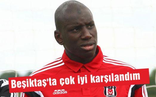 Beşiktaş'ta çok iyi karşılandım