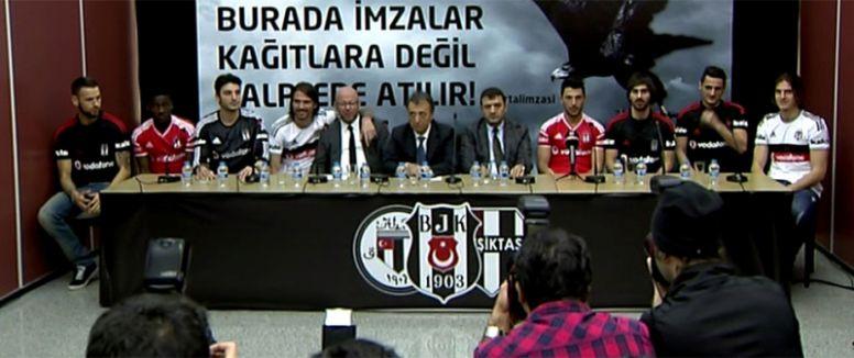 Beşiktaş'tan İmza şov!