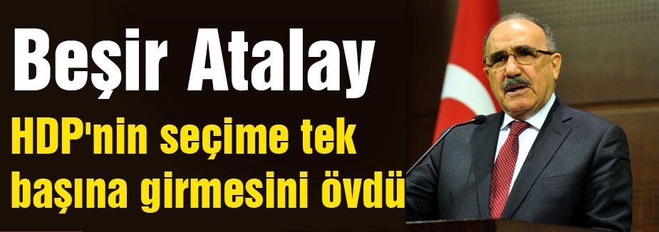 Beşir Atalay'dan  'Yeni Anayasa' Vurgusu