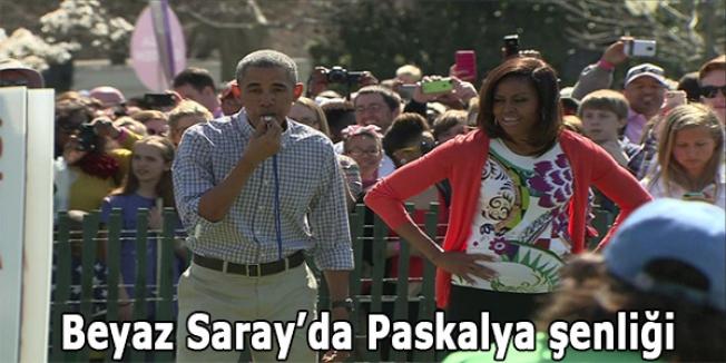 Beyaz Saray'da Paskalya şenliği