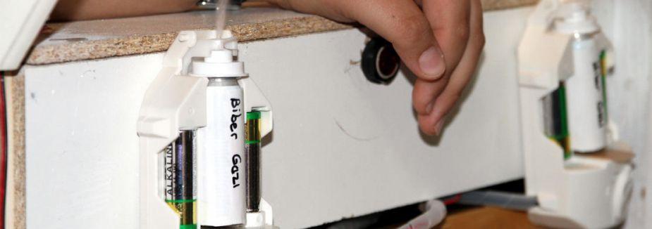 Biber gazlı oto alarm sistemi...