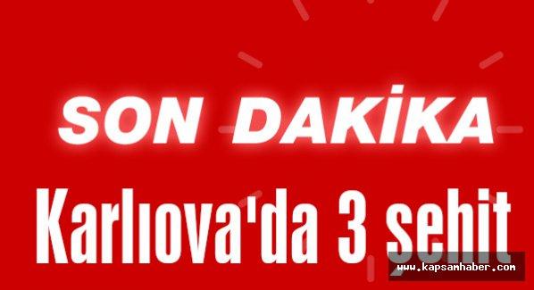 Bingöl Karlıova'da 3 şehit