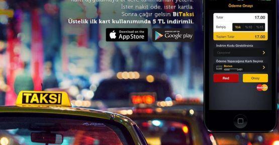 BiTaksi'de dijital ödeme başlıyor...