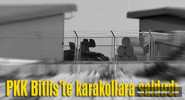 Bitlis'te karakollara eş zamanlı saldırı