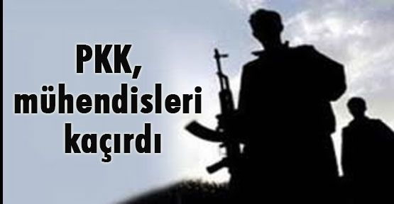 Bitlis'teTeröristler  Mühendis Kaçırdı