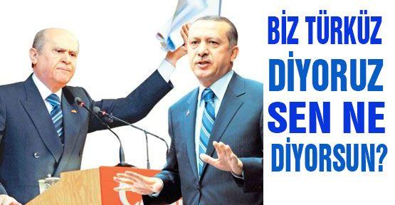 Biz Türk'üz Diyoruz Sen Ne Diyorsun?