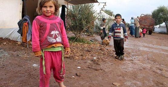 BM Suriyeli çocuklar için endişeli...