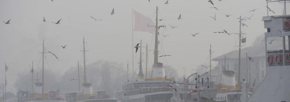 Boğaz gemi trafiğine kapatıldı...