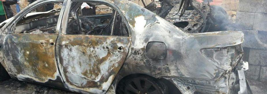 Bomba yüklü araçla saldırı...