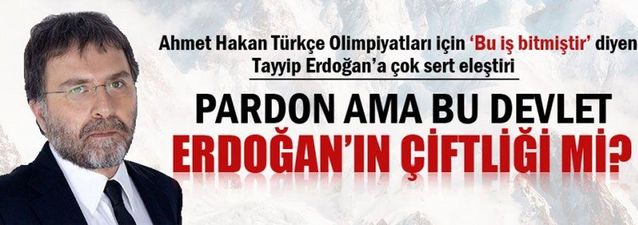 Bu devlet Erdoğan'ın çiftliği mi?