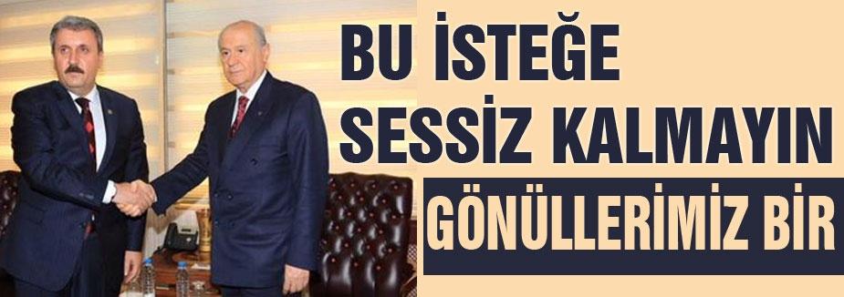 BU İSTEĞE SESSİZ KALMAYIN