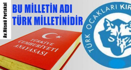 Bu Milletin Adı Türk Milleti'dir