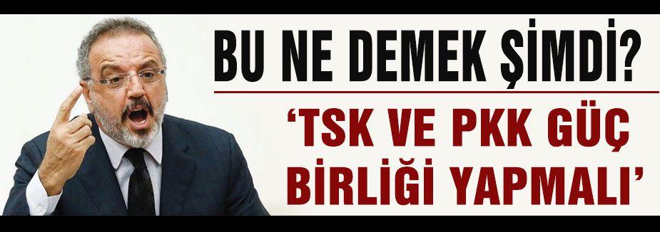 Bu ne demek şimdi? TSK VE PKK...