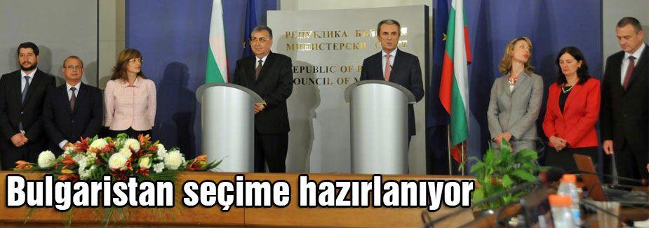 Bulgaristan seçime hazırlanıyor