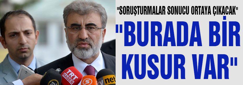 """""""BURADA BİR KUSUR VAR"""""""