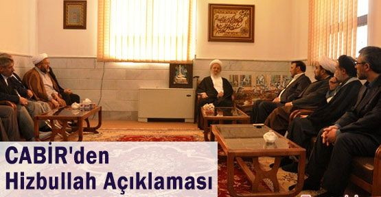CABİR'den Hizbullah Açıklaması ve Bozdağ'a Tepki