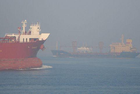 Çanakkale Boğazı'nda yoğun sis...