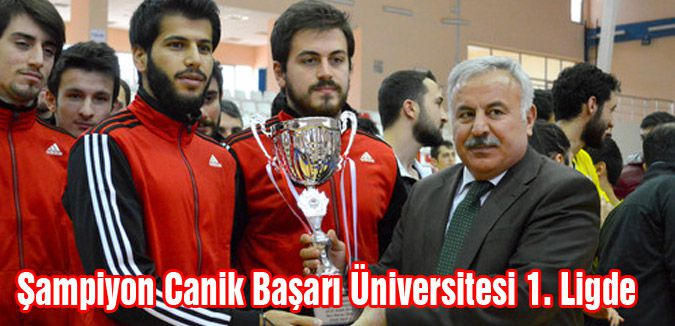 Canik Başarı Üniversitesi 1. Ligde
