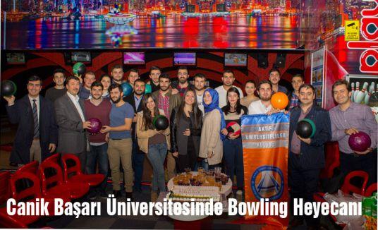 Canik Başarı Üniversitesinde Bowling Heyecanı