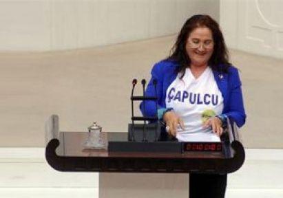 Çapulcu Milletvekili Mecliste...